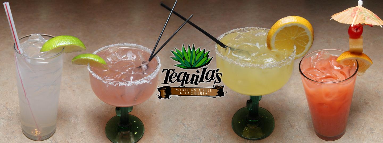 Tequilas Drink Menu